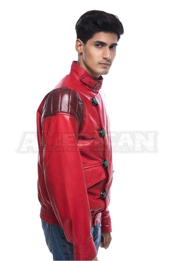Akira Kaneda Red Leather Jacket Costume American Leather Jacket