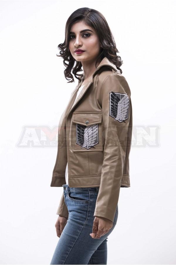 Attack on Titan Scouting Legion Leather Jacket