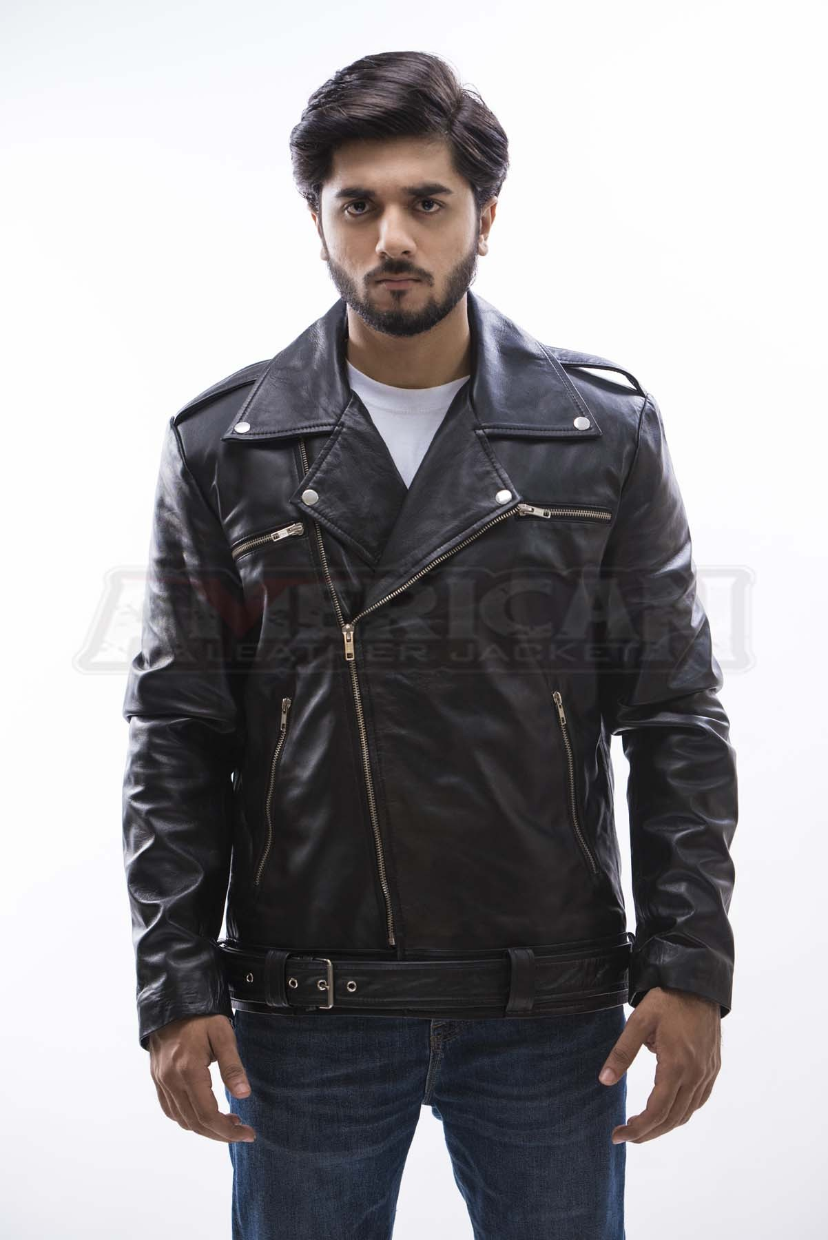 4e94794e9 The Walking Dead Negan Leather Jacket