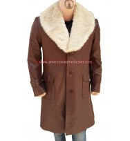 Ron Burgundy Anchorman 2 The Legend Continues Leather Coat