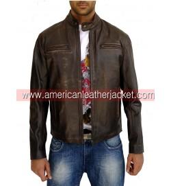 Mark Wahlberg Contraband Leather Jacket