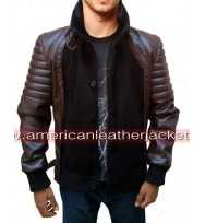 Horns Daniel Radcliffe Leather Jacket
