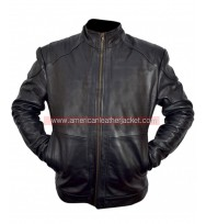 Red 2 Bruce Willis Leather Jacket