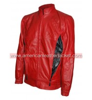 The Place Beyond the Pines Ryan Gosling Red Leather Jacket