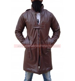 Aiden Pearce Watch Dogs Real Leather Coat